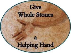 Helping Hand Whole Stones